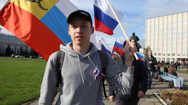В Архангельске активисту не дали провести пикет против поправок в Конституцию