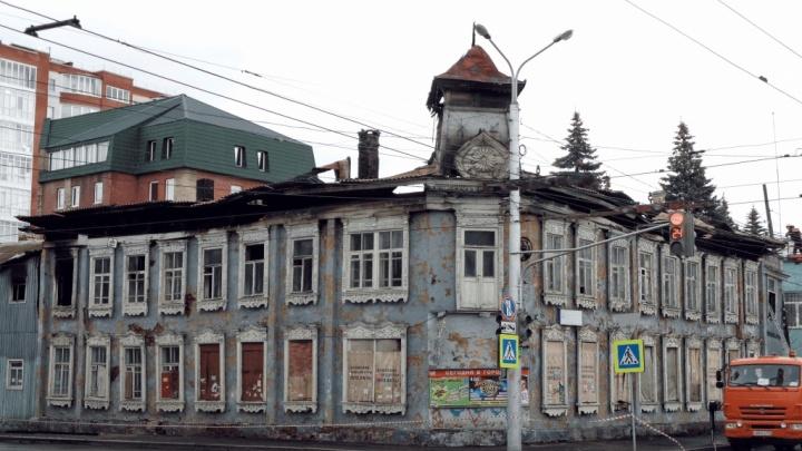 Власти сделали первый шаг к восстановлению сгоревшей усадьбы в Уфе