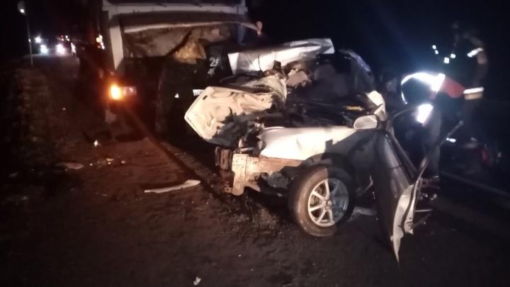 Две женщины разбились насмерть в ДТП на трассе Тюмень — Омск