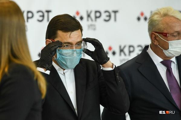 В регионе нет предпосылок для новых ограничений по коронавирусу, считает Куйвашев
