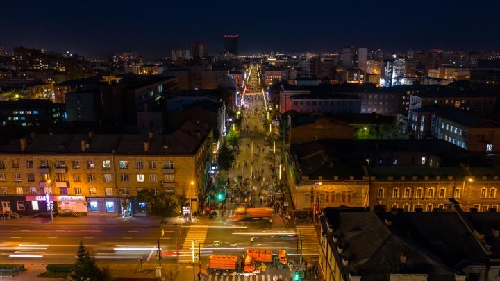 Ещё больше подсветки — публикуем список домов, которые украсят иллюминацией в Красноярске