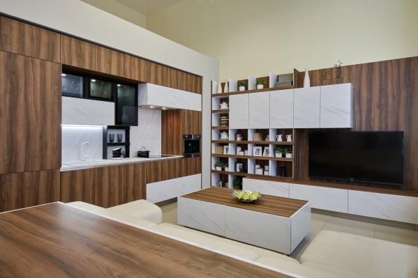Новая модель кухни отLORENA удивляет и влюбляет в себя с первого взгляда