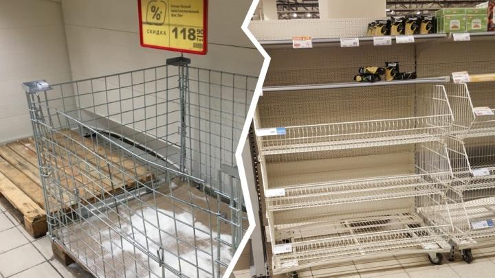 «Больные люди, всё приедет завтра»: реакция продавцов на ярославцев, скупающих гречку