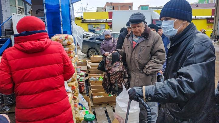 Жителям Башкирии будут выдавать продуктовые наборы в случае введения режима ЧС