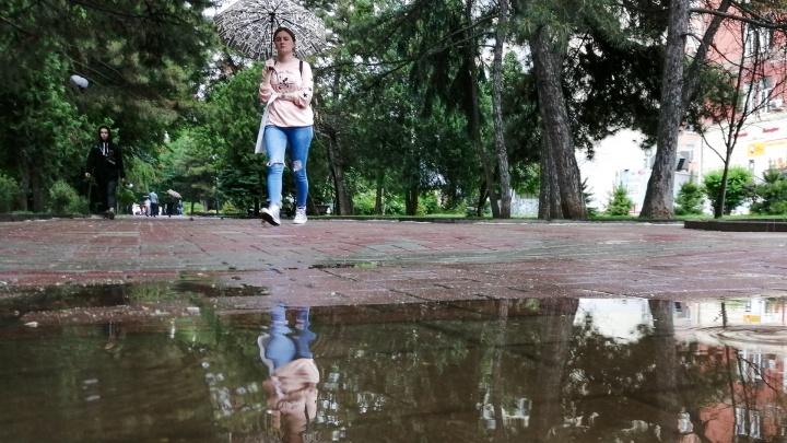 Лето встречает дождями: какой будет погода в Ростове на этой неделе