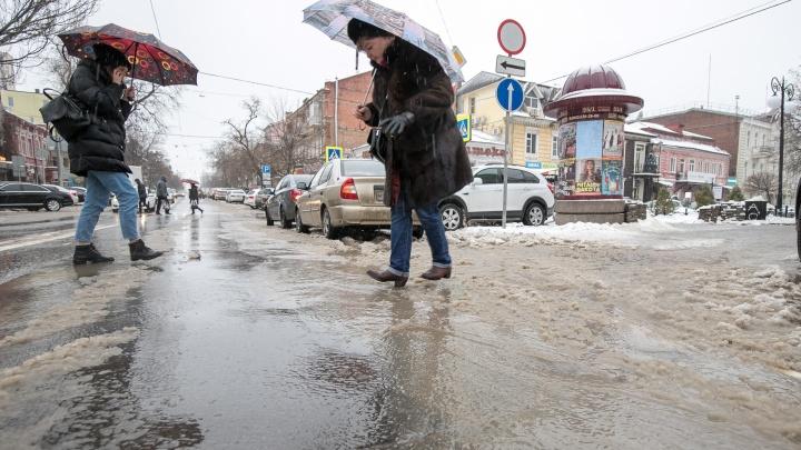 Синоптики предупредили, что Дон может затопить ростовские низины из-за сильного ветра