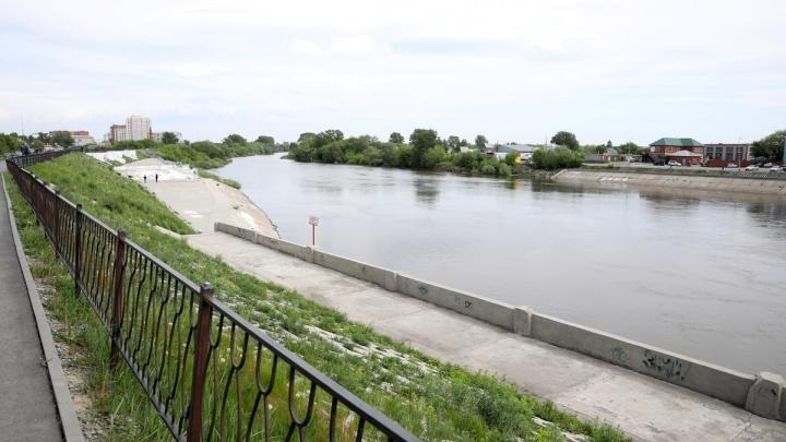 Второй этап реконструкции набережной Тобола в Кургане начнут в июне