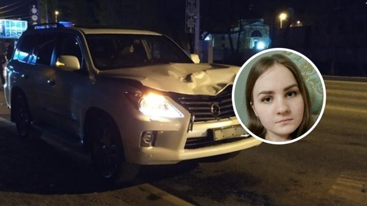 За рулем Lexus, насмерть сбившего молодую девушку на шоссе Космонавтов, был 17-летний подросток