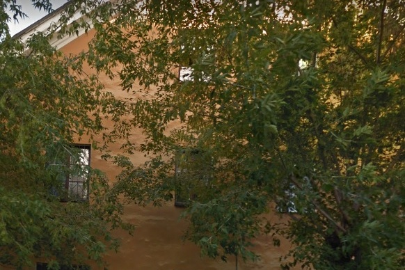 Этот дом на Печерской, 6 утопает в зелени, но совсем скоро его здесь не будет