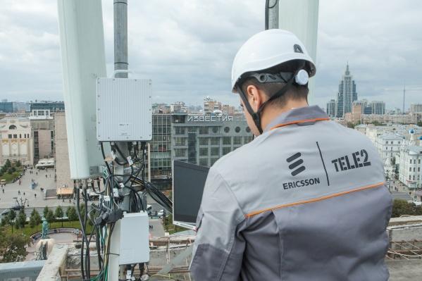 Базовые станции Ericsson Radio System установлены на сети Tele2 в 27 регионах России, включая Москву и Санкт-Петербург