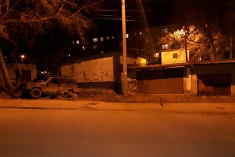 Авария произошла вечером в пятницу, 3 апреля, около 21:00