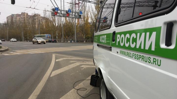 В Самаре у местного жителя арестовали машину за ЖКХ-долги