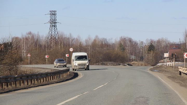 В ДТП на трассе в Прикамье погиб пассажир иномарки