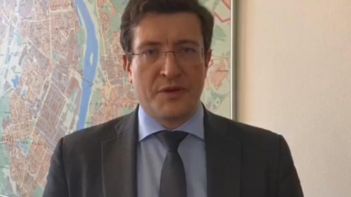 Глеб Никитин записал обращение к читателям NN.RU