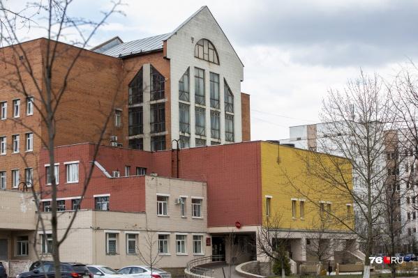 Владимир Кудрявцев лечился в госпитале ветеранов войн в Ярославле