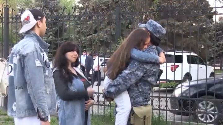 Волгоградские полицейские сняли клип о защитниках Родины