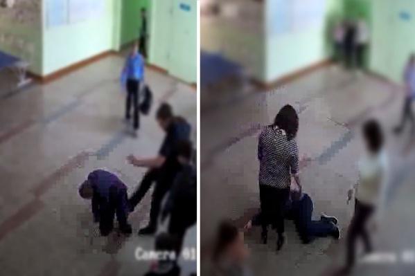 В школе уже провели первую проверку инцидента и утверждают, что в драке пострадали все дети