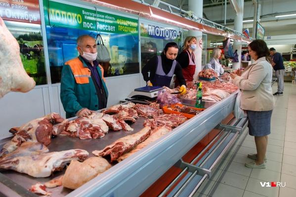 Волгоградцы сократили поставки мяса