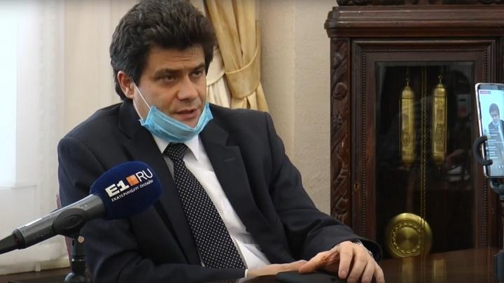 О майских праздниках, штрафах, масках и салюте: мэр Екатеринбурга ответил на вопросы горожан