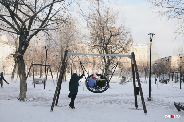 В Челябинске в этом году активно раскачали тему благоустройства