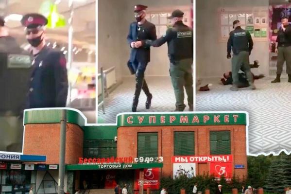 Поход в магазин в экстравагантном образе закончился для челябинца нокаутом и административным делом о мелком хулиганстве