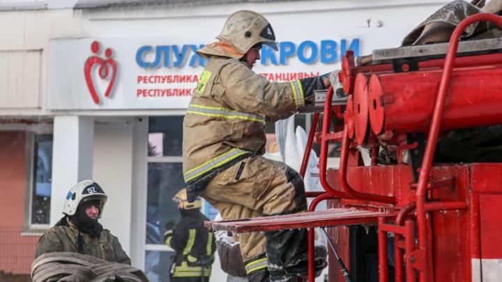 Главврач станции переливания крови в Уфе озвучил предварительную причину пожара