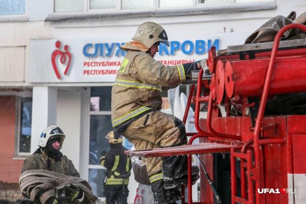 Пожар тушили 61 спасатель МЧС России