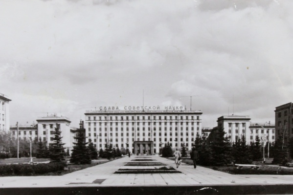 Таким главный корпус ЧПИ (ЮУрГУ) был в советское время