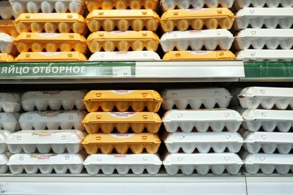 Яйца в марте подорожали на 6%