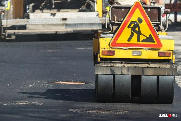 Из-за ремонта дороги водители часами стоят на трассе
