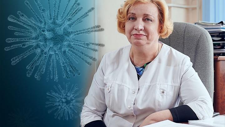 Инфекционист 40-й больницы рассказала, чем лечат заразившихся коронавирусом пациентов