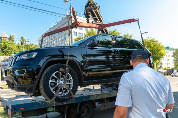 Сейчас в столице региона тариф на эвакуацию составляет 1900 рублей