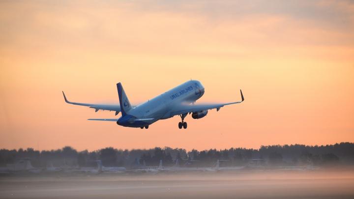 Спецборт «Уральских авиалиний» доставил в Екатеринбург россиян из Таджикистана