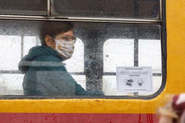 В Волгограде растет количество заболевших коронавирусом