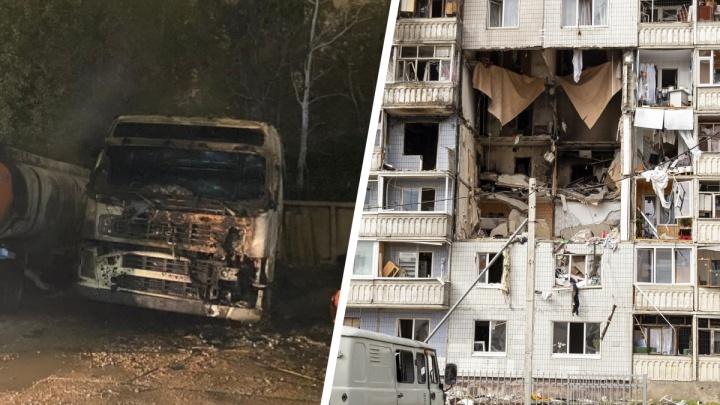 Страшный пожар и выселение людей из взорвавшегося дома: что случилось в Ярославской области за сутки