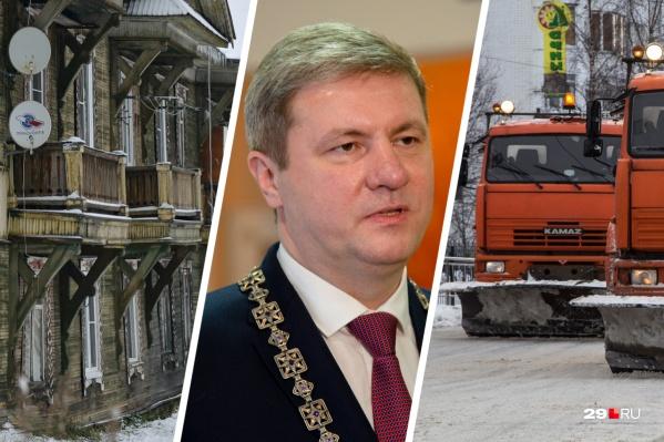 Мореву достался город с множеством проблем — в ближайшее время мы увидим, как новый глава Архангельска справляется с ними