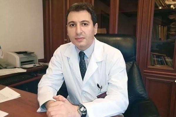 Армен Бенян продолжил серию видеообращений в соцсетях к населению области