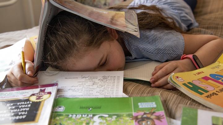 «Хочется сбежать из дома!»: в Ярославле учителям рекомендовали задавать меньше уроков