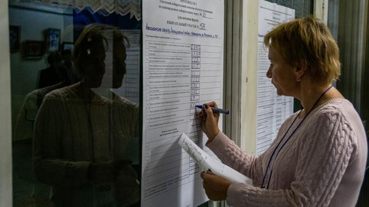 В Новосибирской области обработали первые бюллетени. Публикуем расклад по партиям