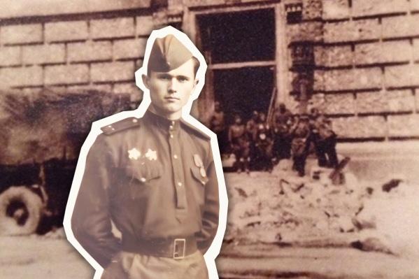 Василий Рыжков прошел до Берлина