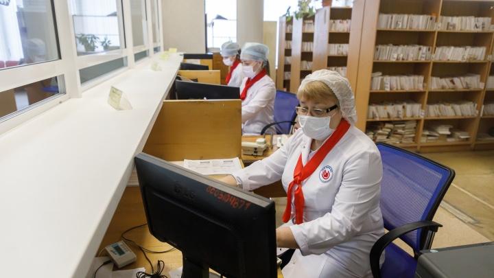 В Волгограде из госпиталя для людей с подозрением на коронавирус уволилось несколько сотрудников