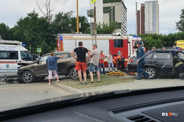 Основной удар пришелся на водителя Daewoo Nexia