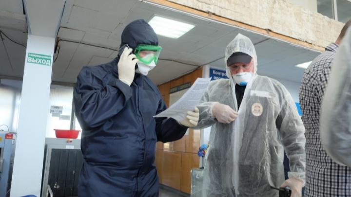 В Курганской области зарегистрировано 1000 случаев заболевания СOVID -19