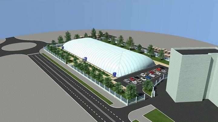 В Омске построят крытый стадион для большого тенниса и мини-футбола