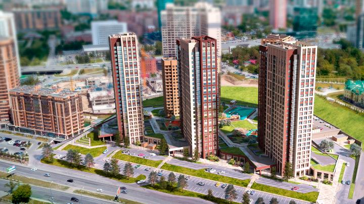 В Новосибирске построили жилой комплекс с аптекарским огородом как в Москве
