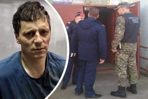Виталия Молчанова задержали, он сознался в убийстве и изнасиловании сестер 8 и 13 лет