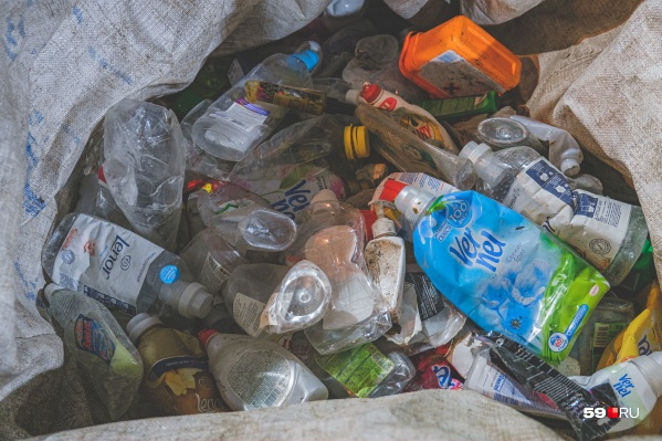Пластик, бумагу, металл, ткань можно отправить на переработку