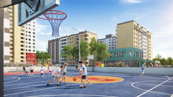На границе Академического и Широкой Речки построят спортивный городок