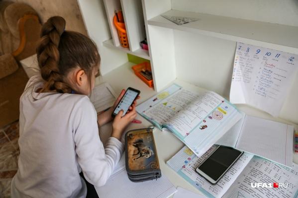 По словам чиновника, в республике увеличилось количество онлайн-уроков