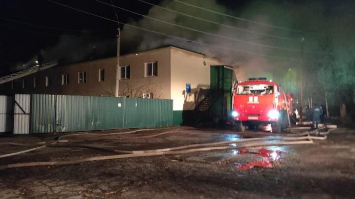 В Лесосибирске ночью произошел пожар в наркологии местного психдиспансера